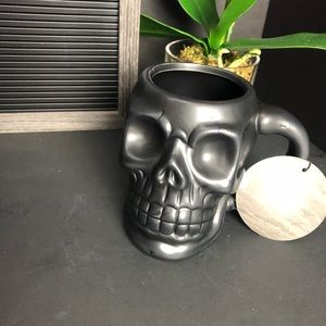 Other - New 2020 black skull beer mug cup